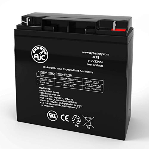 DSR PSJ-3612 DC Power Source 3600 12V 22Ah Jump Starter Battery - This is an AJC Brand Replacement