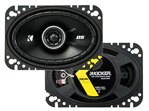 Kicker 43DSC4604 4x6' 2-way Speaker Pair