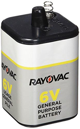 Rayovac 6V General Purpose Lantern Battery, 1.195 Pound