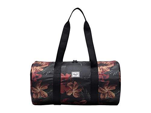 Herschel Packable Weekend Duffel Bag, Tropical Hibiscus, One Size 22.0L