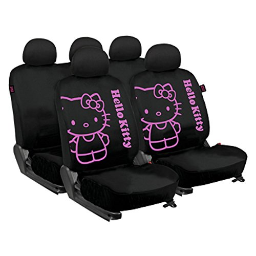 Hello Kitty KIT3021 Complete Car Seat Covers Set