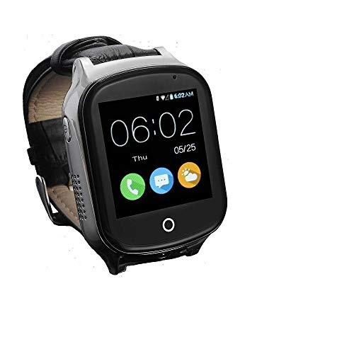 3G GPS Watch for Kids Elderly,WiFi Phone Call, KKBear Real-time Tracking, Geo-Fence Touch Screen Camera SOS Alarm Anti-Lost GPS Tracker Suitable for Dementia Alzheimer's