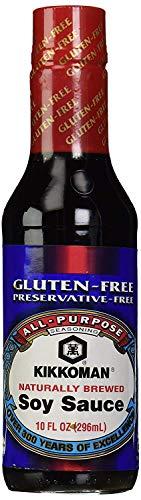 Kikkoman Soy Sauce, Gluten Free, 10 oz
