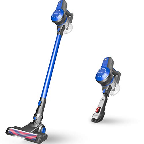 NEQUARE Cordless Vacuum Cleaner 18KPa Super Suction Pet Hair Eraser 4 in 1 Cordless Stick Vacuum Convenient& Easy Empty Dirt Bin 35Min Long-Lasting Lightweight& Versatile with Multiple Brush for Home