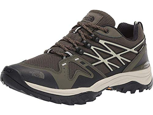 The North Face Men's Hedgehog Fastpack Gore-Tex Hiking Shoe, New Taupe Green/TNF Black, 9.5