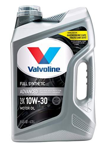 Valvoline Advanced Full Synthetic SAE 10W-30 Motor Oil 5 QT