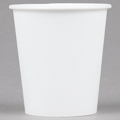 Dart Solo Bare Eco-Forward 3 oz. Wax Treated White Paper Cold Cup - 100/Pack