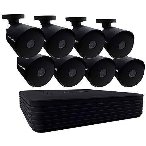 Night Owl CCTV Video Home Security Camera System with 8 Wired 1080p HD Indoor/Outdoor Cameras with Night Vision and 1TB Hard Drive