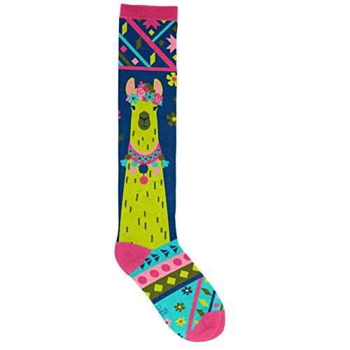Karma Gifts Knee High Socks, One Size, Llama