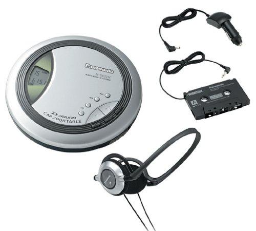 Panasonic SL-SX331C Portable CD Player with Car Kit