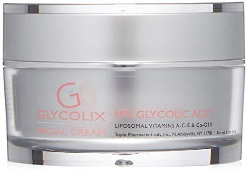 Glycolix Elite 15% Glycolic Acid Facial Cream, 1.6 oz