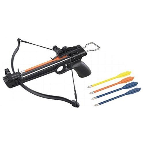 Crossbow 50 lb. Mini Pistol Hand Held Gun Archery Hunting Cross Bow w/5 Arrows