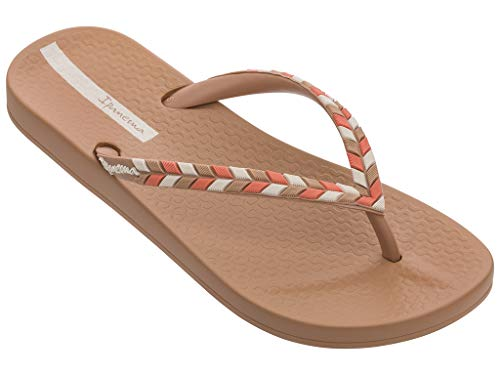 Ipanema Sandals ANA Lovely X, Brown, Size 8