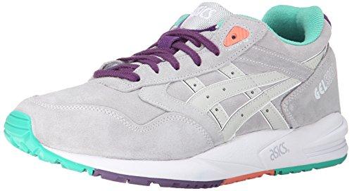 ASICS Gel-Saga Retro Running Shoe, Soft Grey/Soft Grey, 7.5 M US
