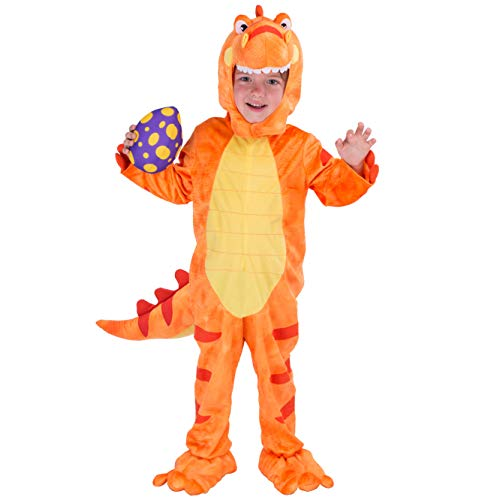 Spooktacular Creations Child T-Rex Costume (3T) Orange