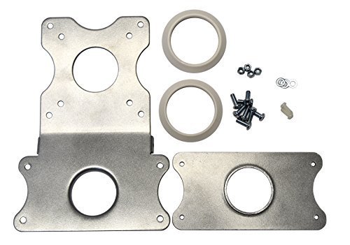 VIVO Adapter VESA Mount Kit, Bracket Set for Apple 21.5 inch and 27 inch iMac, Late 2009 to 2020 Models, LED Display Computer, Stand-MACB