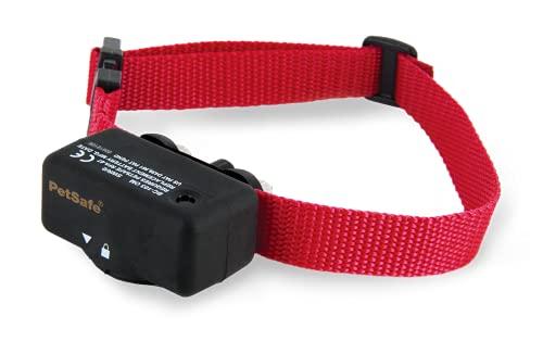 PetSafe Basic Bark Control Collar for Dogs 8 lb. and Up, Anti-Bark Training Device, Waterproof, Static Correction, Canine - Automatic Dog Training Collar to Decrease Barking