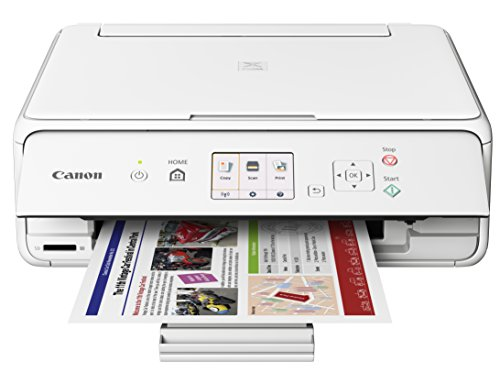 Canon Office Products PIXMA TS5020 WH Wireless color Photo Printer with Scanner & Copier, White
