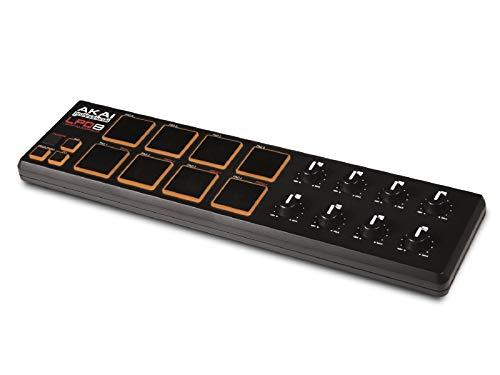 Akai Professional LPD8   Portable 8-Pad USB MIDI Pad Controller for Laptops (Mac & PC)