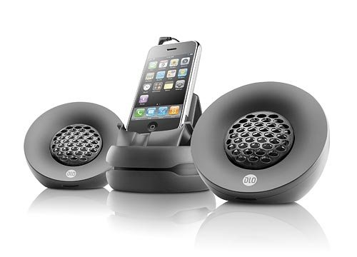 Digital Lifestyle Outfitters DLZ72626,17  Portable Speakers for iPhone -Black