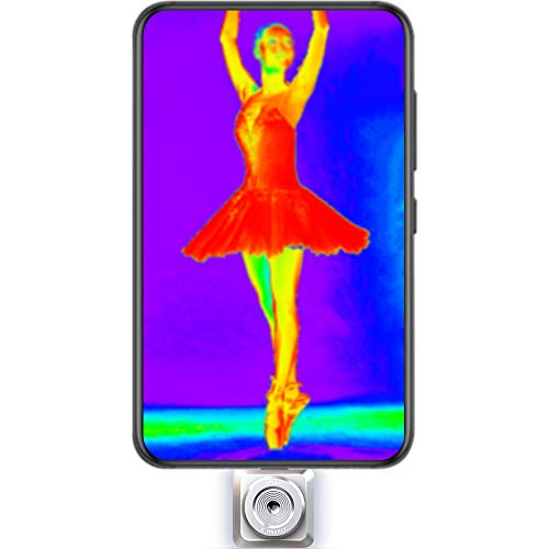 InfiRay T2L Practical ThermalImaging InfraredCamera Thermal Imager for Smart Phones Android USB C
