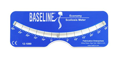 Baseline - 12-1099 Scoliosis Portable Medical Evaluation, Measuring and Testing Meter for Diagnosis of Back and Spine Scoliosis in Adults or Children