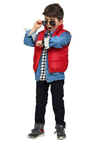Back to The Future Marty McFly Toddler Costume 2T Blue, Red