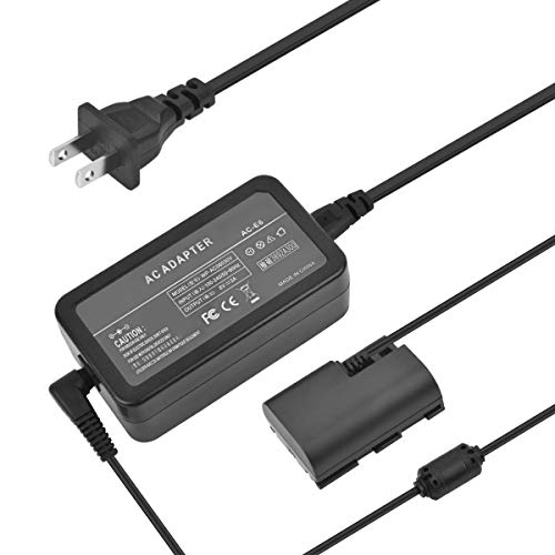 SinFoxeon ACK-E6 Camera AC Adapter Power Charger kit fit for Canon EOS 5D Mark II, 5D Mark III, 5D Mark IV, 60D, 6D, 70D, 7D, EOS 5DS, 5DS R DSLR Cameras Fully Decoded