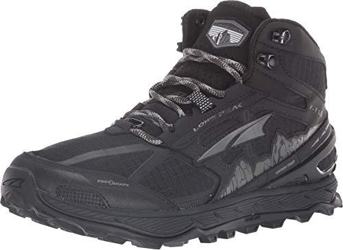 ALTRA Women's ALW1855H Lone Peak 4 Mid Mesh Trail Running Shoe, Black - 9 M US