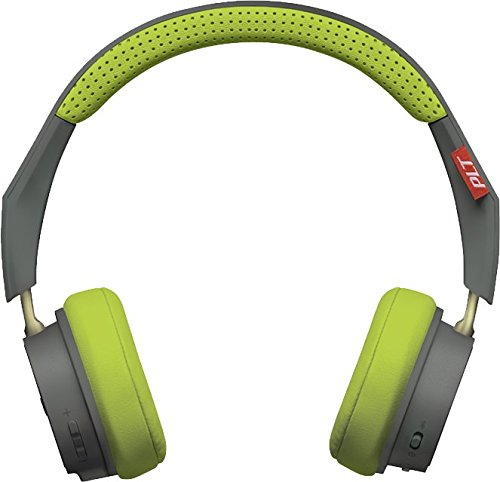 Plantronics BackBeat 500 Wireless Bluetooth Headphones - Lightweight Memory Foam Headband and Earcups - Compatible with iPhone, iPad, Android, and Other Smart Devices - Grey