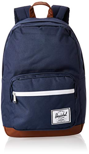 Herschel Pop Quiz Backpack, Navy/Tan, Classic 22L
