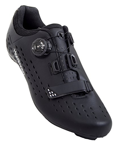 Tommaso Strada Elite - Quick Lace Style Road Bike Cycling Shoe - 47 Black