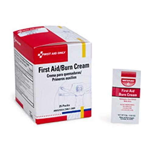 First Aid Only H343 First Aid Burn Cream, 144/box