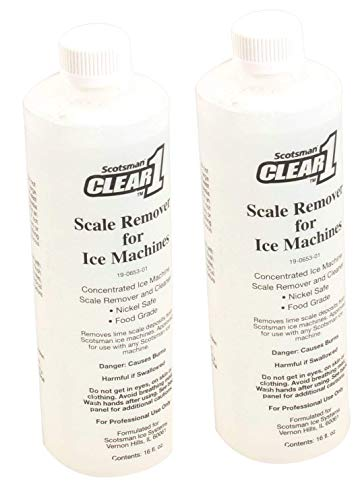 Scotsman 19-0653-01 Clear1 Cleaner 16oz (2-Pack)
