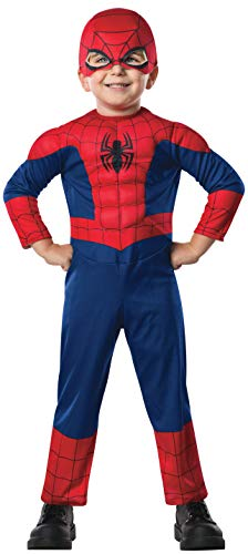 Rubie's Marvel Ultimate Spider-Man Costume, Toddler, As Shown