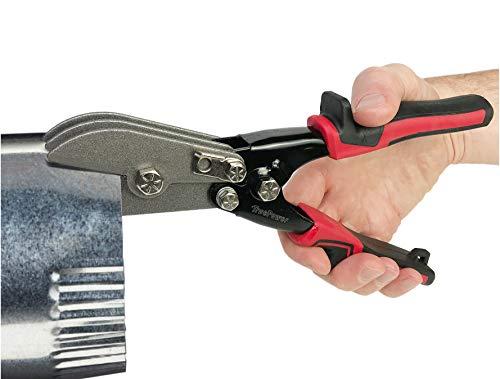 Gino Development 02-0105 TruePower 5-Blade Hand Crimper HVAC Ductwork Tool, 9-1/2'