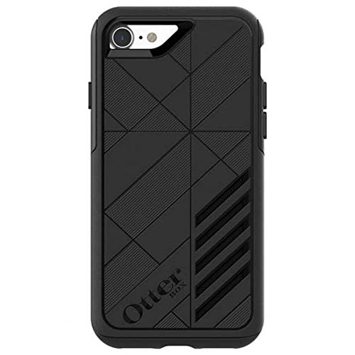 OtterBox Achiever Series Slim Case for iPhone SE (2020), iPhone 8, iPhone 7 (NOT Plus) - Retail Packaging - (Black-Black)