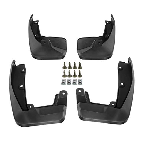 A-Premium Splash Guards Mud Flaps Mudguards Compatible with Honda CR-V CRV 2017-2020 4-Door Front and Rear Set of 4