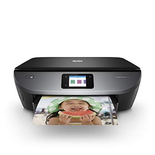 HP ENVY Photo 7155 All-in-One Photo Printer with Wireless Printing, HP Instant Ink, Works with Alexa (K7G93A)