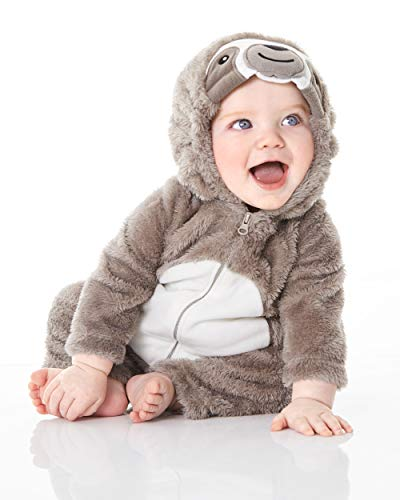 Carter's Baby Halloween Costumes, Sloth, 12 Months