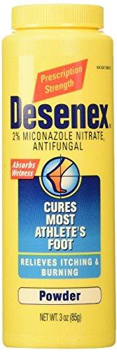 Desenex Antifungal Powder Cures Most Athletes Foot 3 oz. (3-Pack)