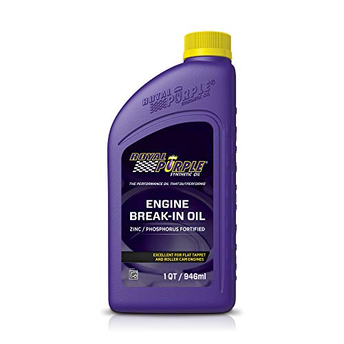 Royal Purple 11487 Engine Break-In Oil, 1 Quart