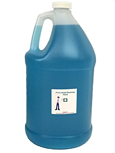 Print Head Cleaner for Epson Printers WF-7610 WF-7620 WF-2760 WF-2750 WF-3640 WF-3620 WF-2650 XP-430 XP-330 XP-420 XP-410 XP-220 XP-320-1/2 Gallon Cleaning Solution