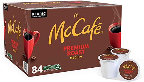 McCafé Premium Medium Roast K-Cup Coffee Pods (84 Pods)