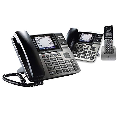 RCA U10002SET Unison Dect 6.0 Phone System One Base Station, One Wireless Deskphone One Cordless Handset