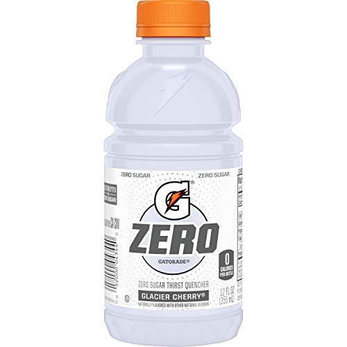 Gatorade G Zero Thirst Quencher, Glacier Cherry, 12 Ounce, 24 Pack