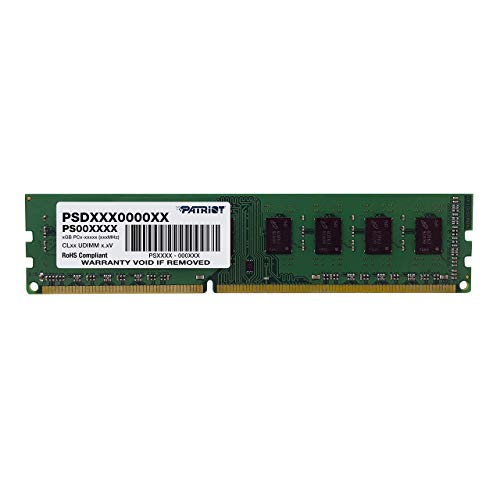 Patriot Signature 8GB DIMM DDR3 CL11 PC3-12800 (1600MHz) PSD38G16002