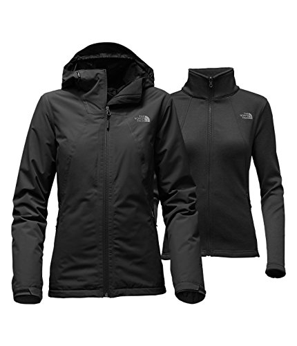 The North Face Women's Highanddry Triclimate Jacket, TNF Black, XS