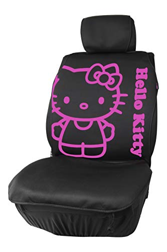 Hello Kitty KIT3017 Car Seat Cover, Black