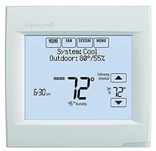 Honeywell TH8321WF1001 Touchscreen Thermostat Wifi Vision Pro 8000 with Stages upto 3 Heat / 2 Cool